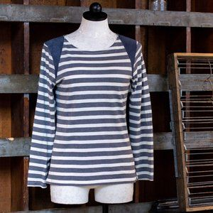 J. Crew Striped Long Sleeve Top